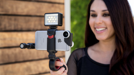 Read Olloclip Launches New Grip for Mobile Videography: The Pivot