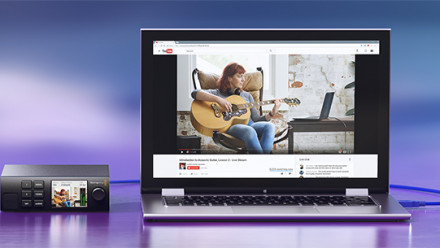 Read Blackmagic Introduces Next-Level Web Streaming device with the Web Presenter