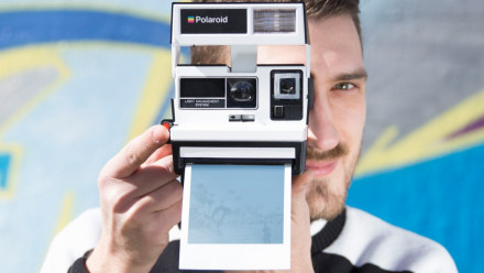 Read The Impossible Project Announces Limited Edition Two Tone Black and White Polaroid 600