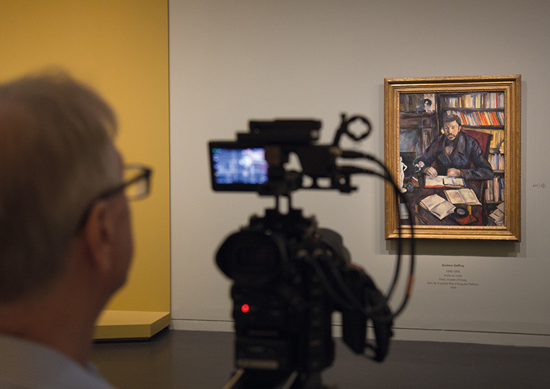 Filming EOS Cézanne ® EXHIBITION ON SCREEN [David Bickerstaff]