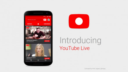 Read YouTube Live is now Mobile
