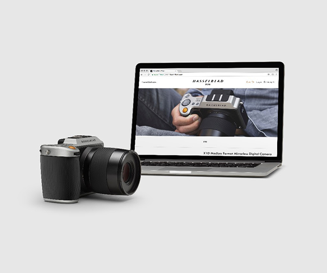 Read Hasselblad's New Online Store is Now Open