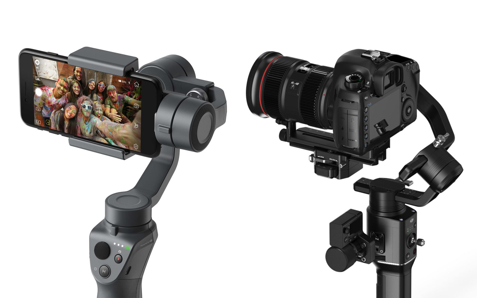 Read New DJI Handheld Camera Stabilisers Unveiled At CES 2018