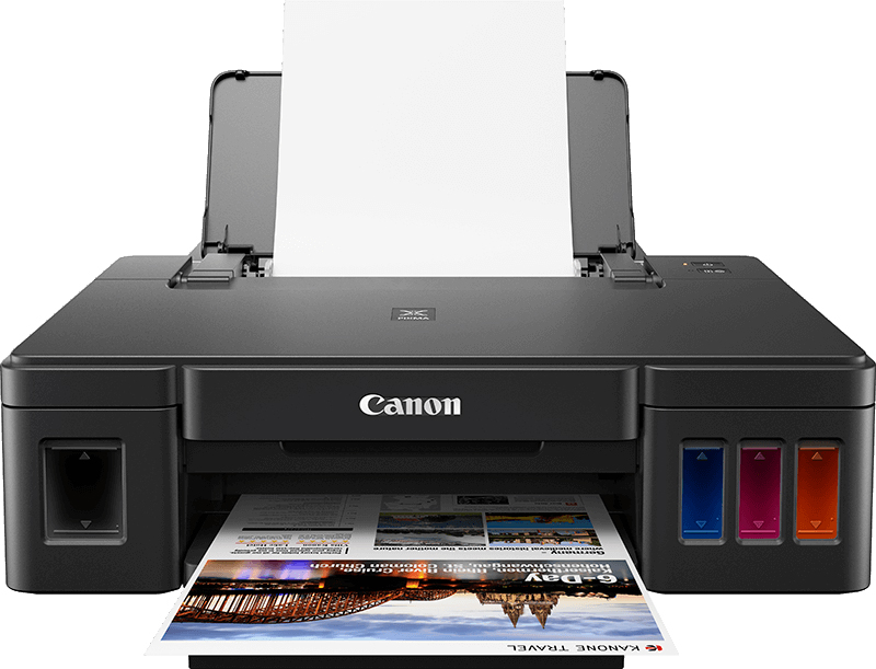 Read Canon Announce PIXMA Printers with Refillable Ink Tanks