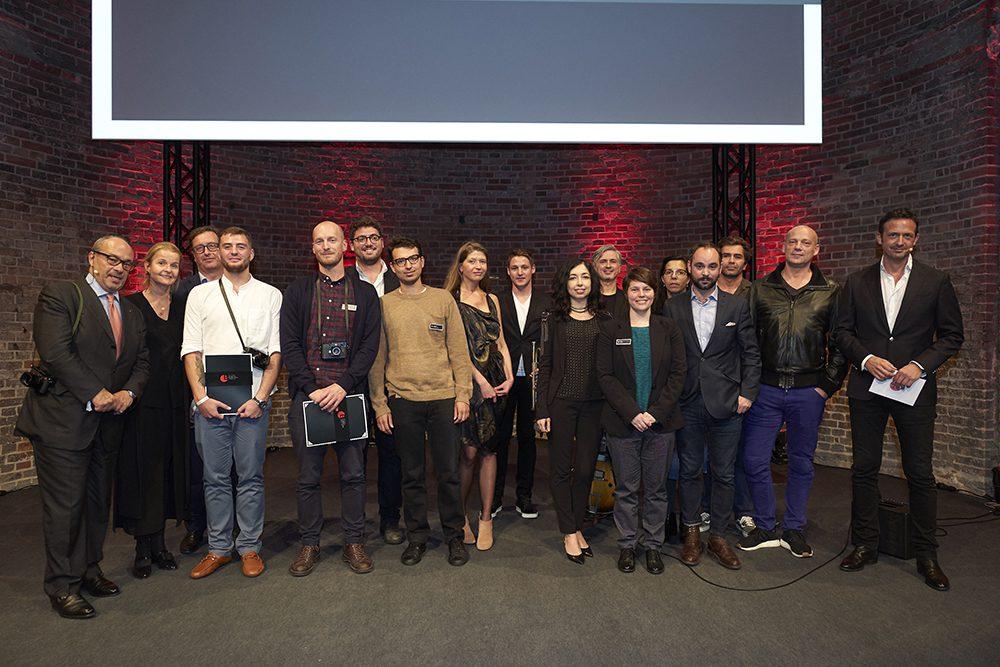 Verleihung und Party onstage at the 2017 Oskar Barnack Award presentation event