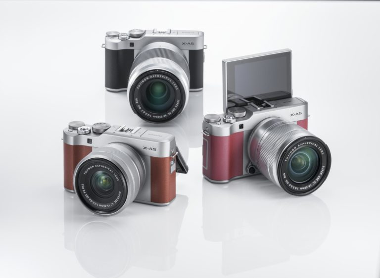 The Fujifilm X-A5 will be available in Brown, Pink and Black