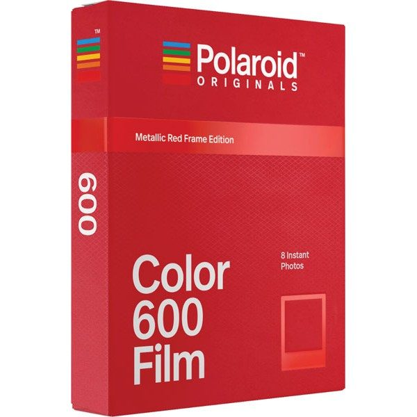 Polaroid Originals 600 Color Metallic Red Frame