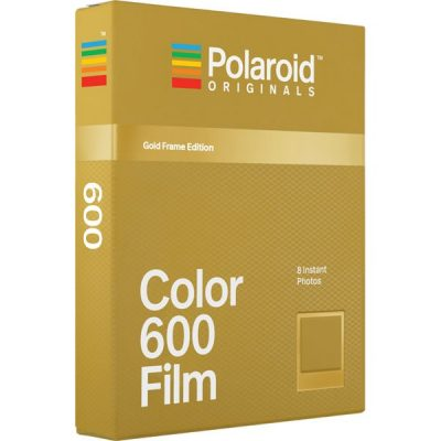 Polaroid Originals 600 Color Gold Frame