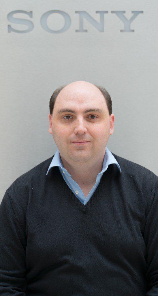 Arnaud Gutleben, Head of Imaging, Sony UK & Ireland