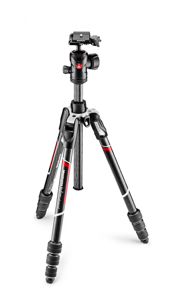 The new Befree Advanced Carbon from Manfrotto