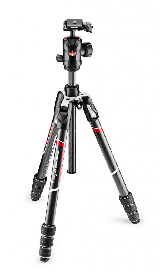 The new Befree GT Carbon from Manfrotto