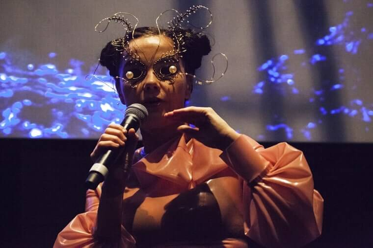Bjork has been a recent pioneer of VR – integrating the tech into her recent multi-media exhibition and performances