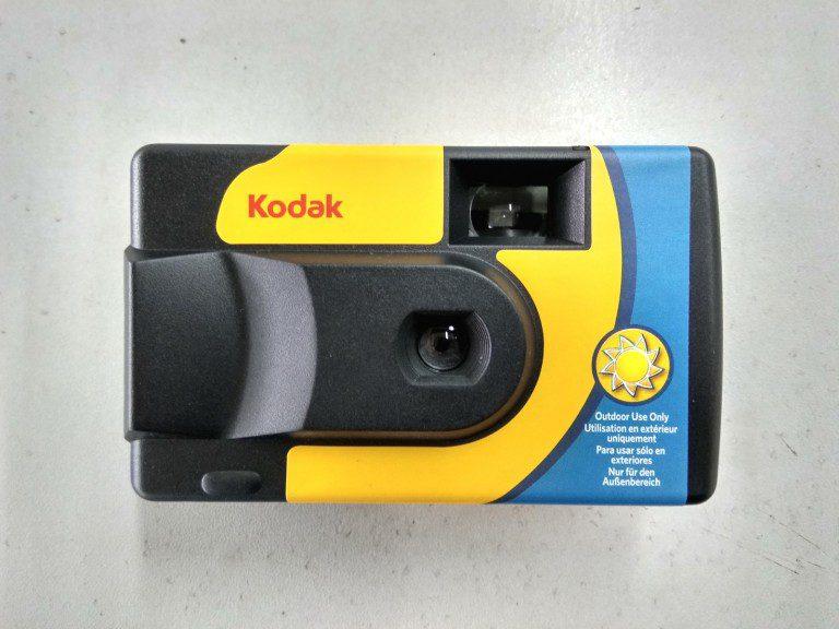 Kodak Alaris Debut Daylight Single Use Camera with 800 ISO Film