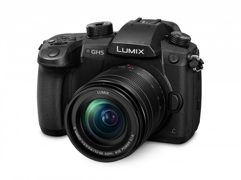 The LUMIX GH5 from Panasonic