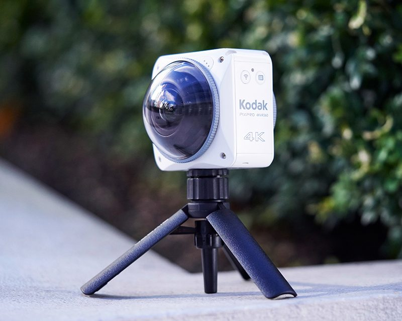 The Kodak Pixpro 4K VR360 Camera