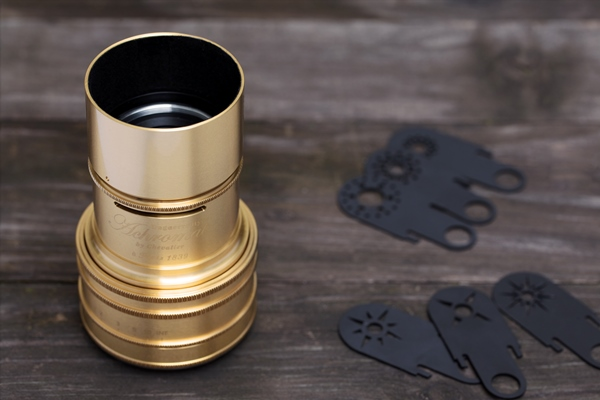 New Limited Edition Gold Plated Art Lens Announced by Lomography