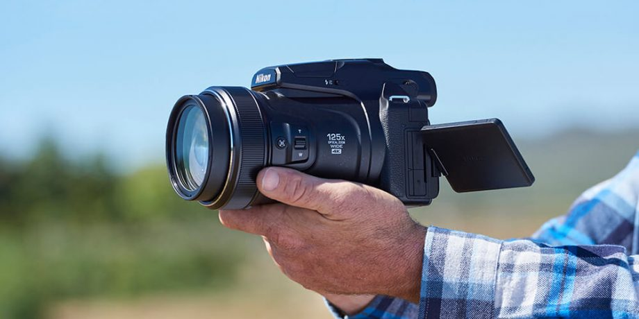 Coolpix P1000 Mega-Zoom Camera with 125x Optical Zoom
