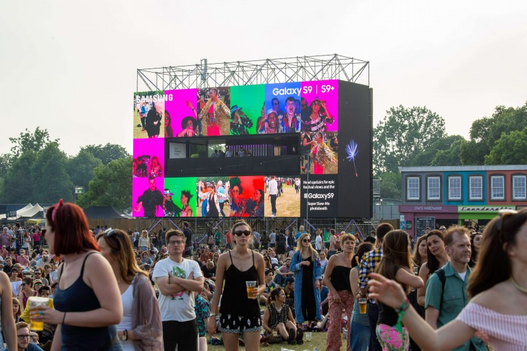 Samsung's Galaxy S9 Super Slow-mo Selfie Experience Hits UK Music Festivals This Summer