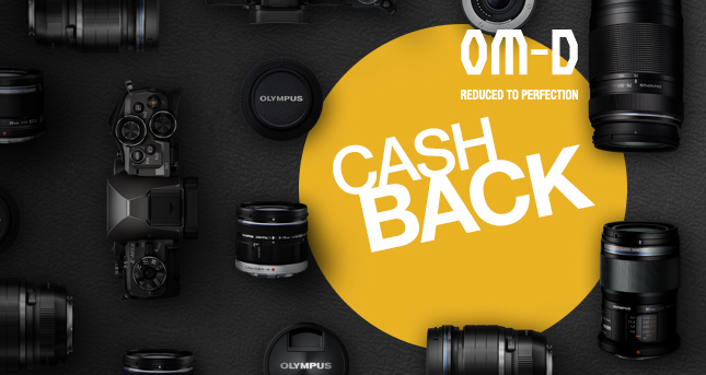 Olympus Announces Summer Cashback Deals
