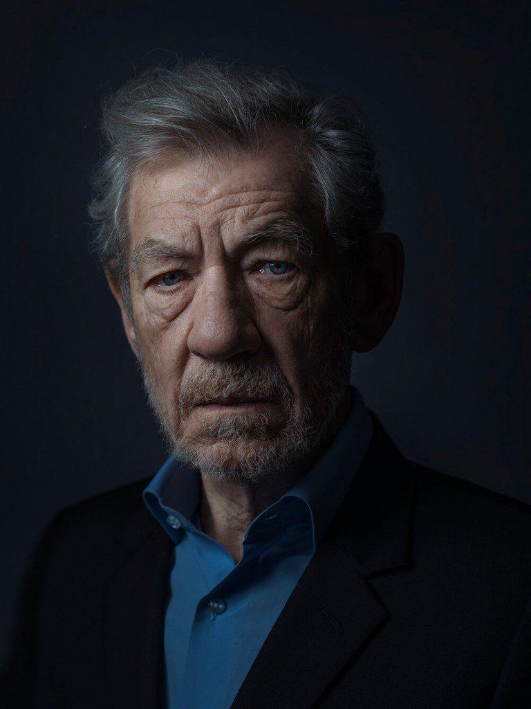 Sir Ian McKellen © Rory Lewis
