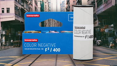 Read Lomography Unveil Colour Negative F²/400 120 Film