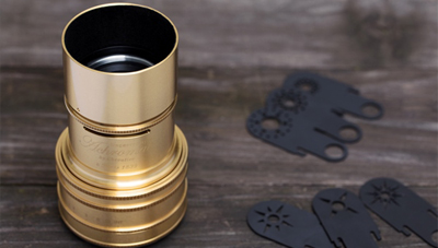 Read New Limited Edition Gold Plated Art Lens Announced by Lomography