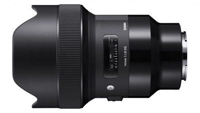 Read Pricing Announced for Sigma Range of Sony E-mount Art Prime Lenses