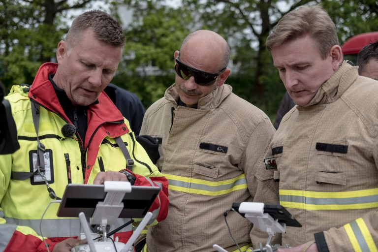 Drones for Good: EENA Awards Heroic Icelandic Drone Rescue with DJI