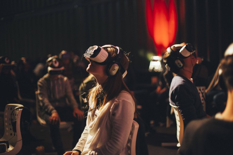 Might this be how the mass market VR cinema looks?