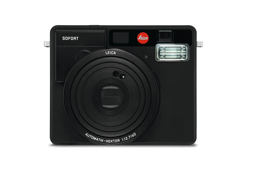 Leica Sofort in Matt Black