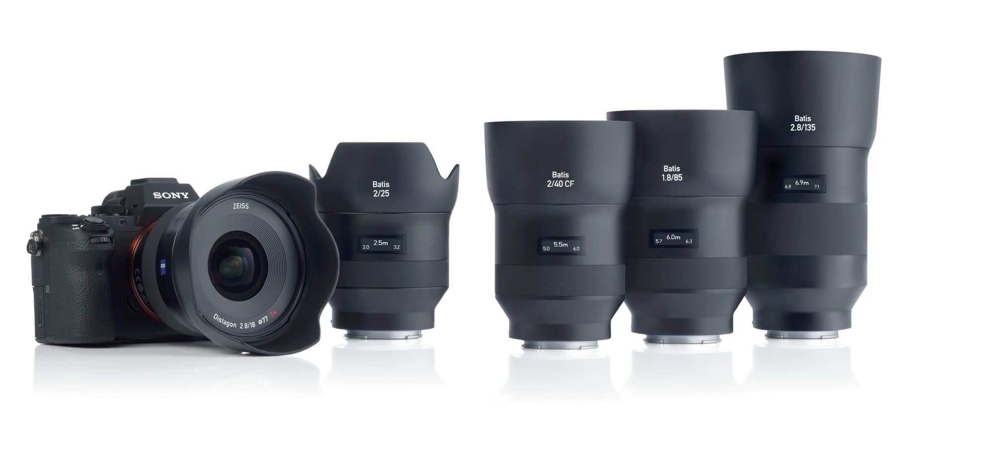 The Batis Family from Zeiss