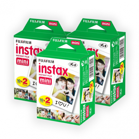 PhotoBite - Fujifilm Instax Mini Twin-Pack X3 [60 Shots]