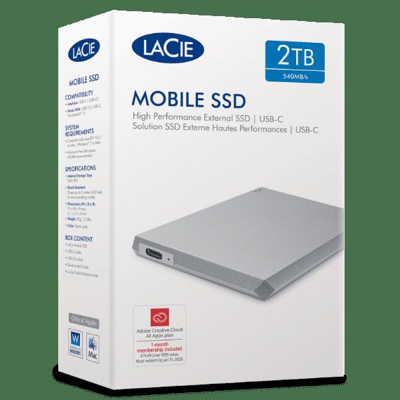 LaCie Mobile SSD.