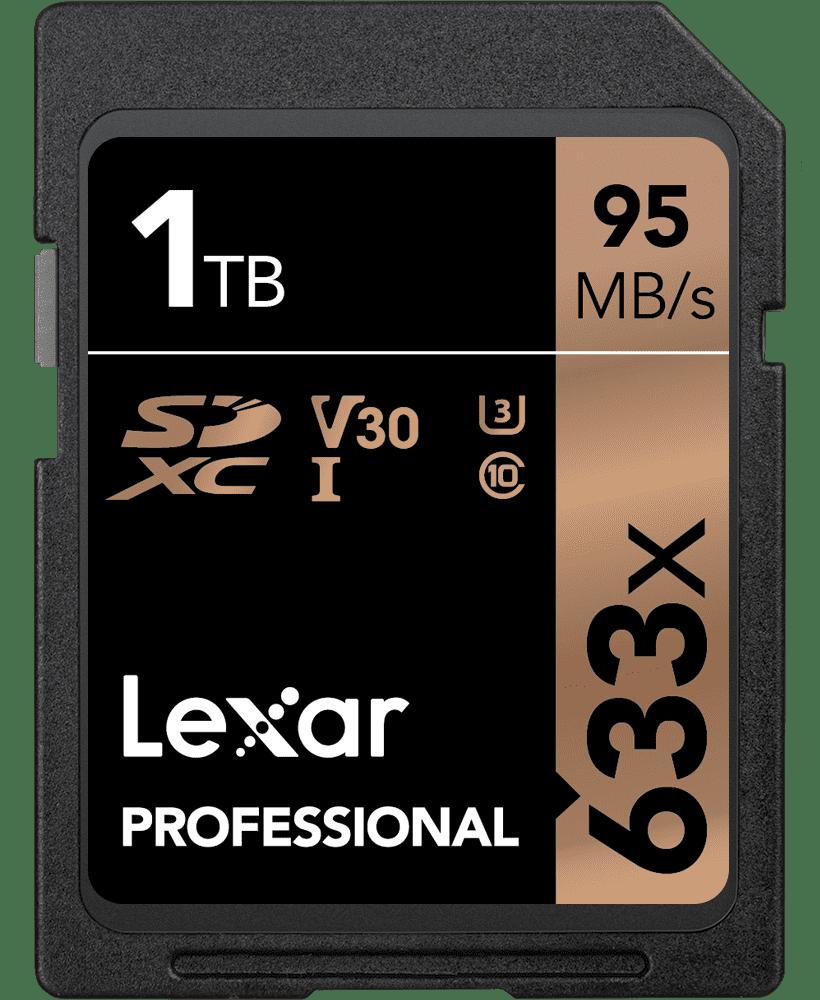 Lexar Professional 633x SDXC™ UHS-I