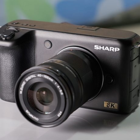 PhotoBite - Sharp Announces 8K Camera at CES 2019