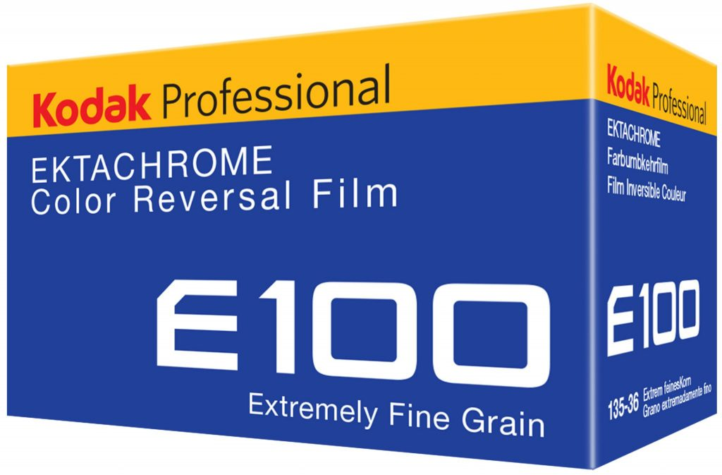 Kodak Professional EKTACHROME Color Reversal Film E100.