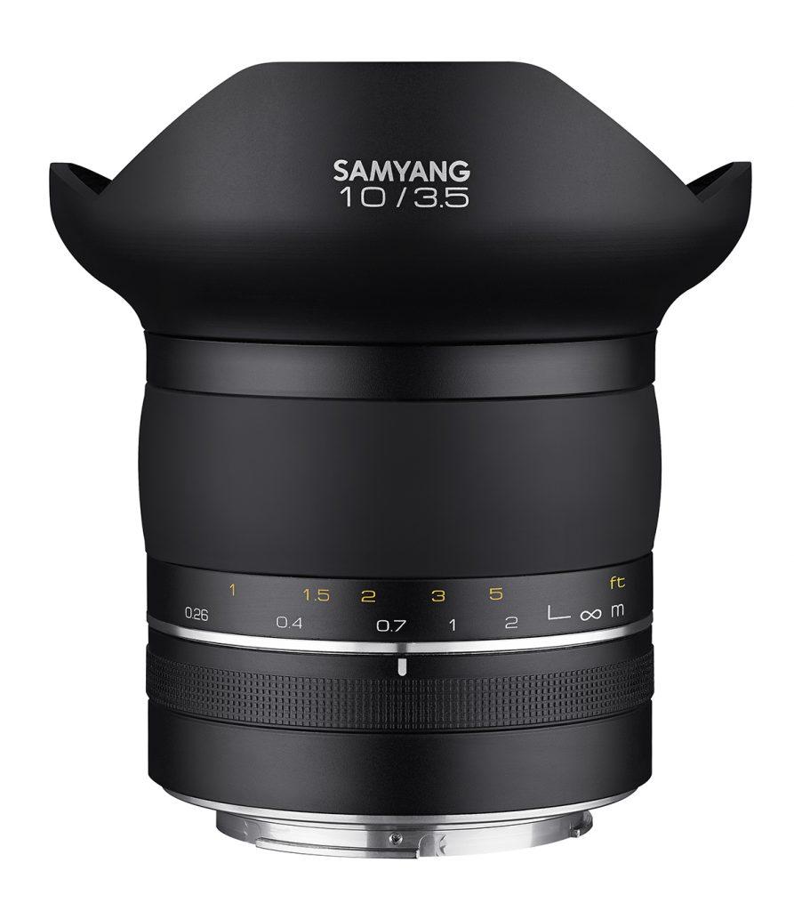 Samyang XP 10MM F3.5 lens