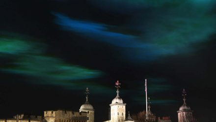 Read Huawei Brings the Northern Lights to London