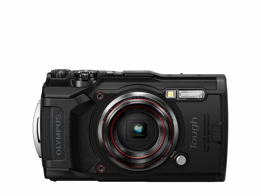 Olympus TG-6 front black