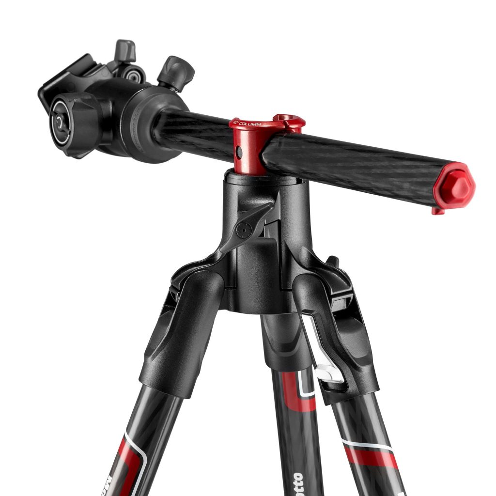 The Manfrotto Befree BT XPRO in carbon.
