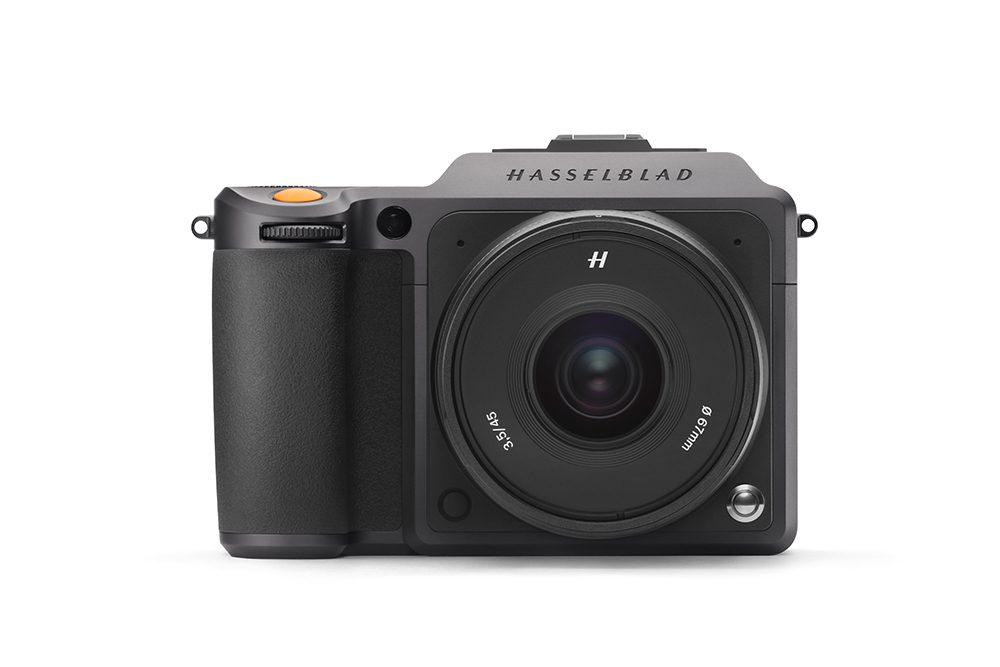 X1D II front lens white