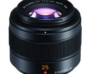 Read Panasonic 25mm f1.4II ASPH Leica DG Summilux Lens Announced