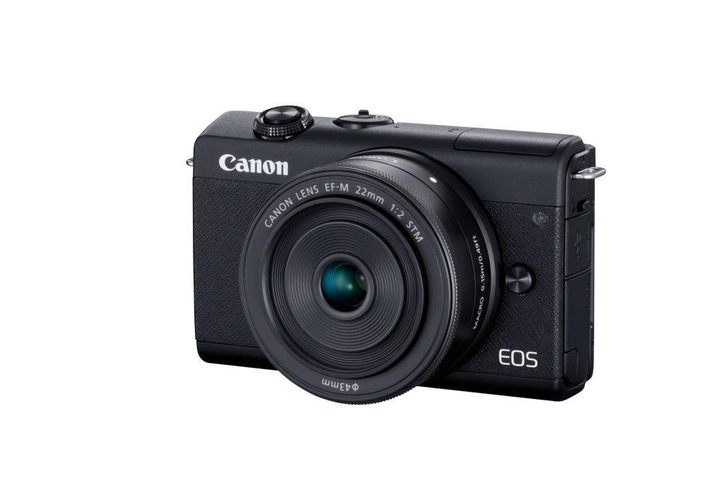 Canon EOS M200 slant