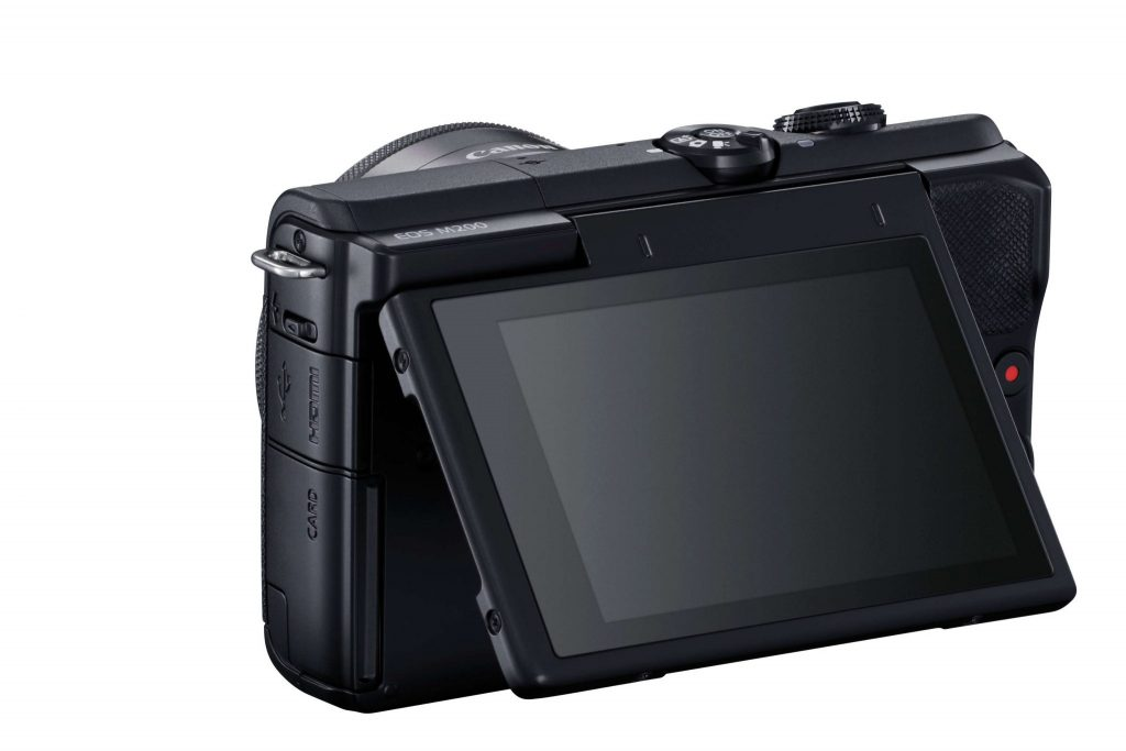 Canon EOS M200 rear screen