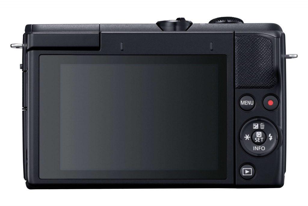 Canon EOS M200 rear