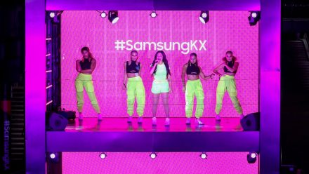 Read Samsung & London R&B Artist Mabel Kick-Off World's First Vertical Gig to Mark the Launch of New Samsung KX Space.