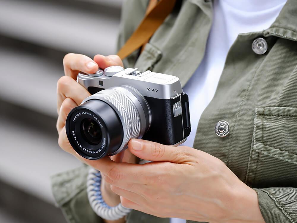 Fujifilm X-A7 lifestyle 4