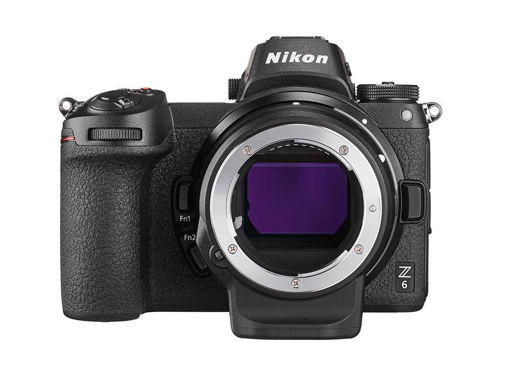 Nikon Z 6 with adapter