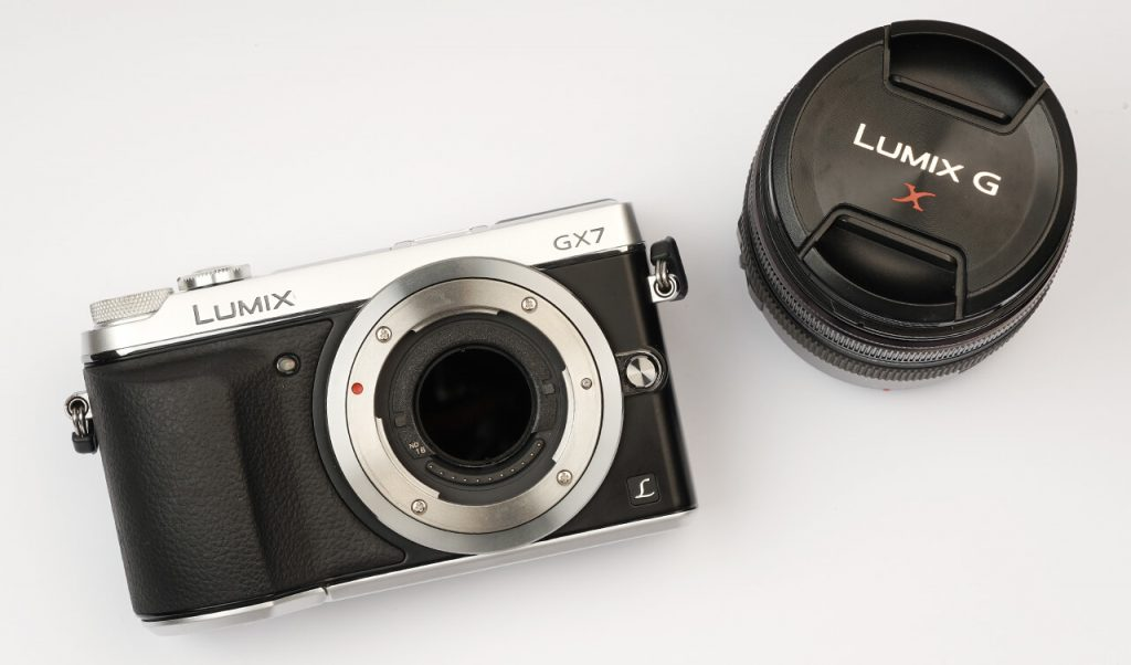 STC Panasonic Lumix Clip Filter in body