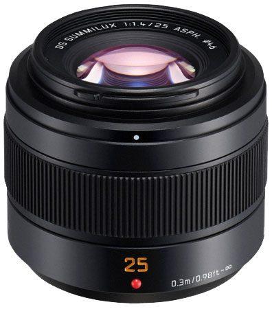Panasonic 25mm f1.4II ASPH Leica DG Summilux Lens
